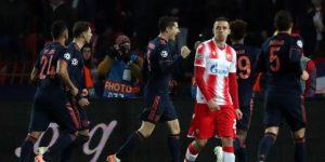 0-6. El Bayern golea con póker de Lewandowski y es primero de grupo
