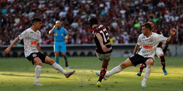 El Flamengo impone su ley, Soteldo se exhibe con Santos y Gremio gana el derbi