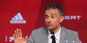 """Luis Enrique vive un día """"muy especial"""" y dice que Moreno fue """"desleal"""""""