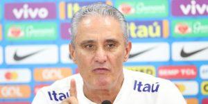 Tite pide calma con Rodrygo y evita entrar en polémicas con Rivaldo