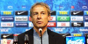 Klinsmann entrenará al Hertha hasta el final de temporada