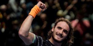 TENIS FINALES ATP: Tsitsipas vence a Federer y logra la final por primera vez