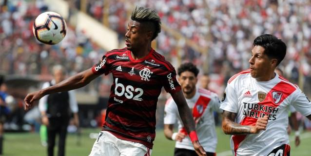 """Enzo Pérez: Flamengo encontró """"el gol por errores nuestros"""""""
