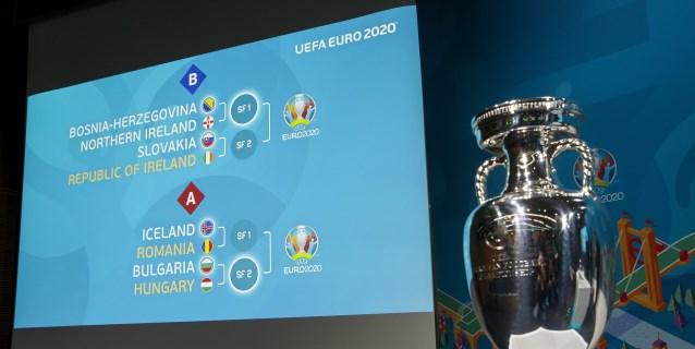 Islandia-Rumanía, Bulgaria-Hungría y Escocia-Israel completan eliminatorias