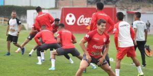 Selección peruana inició trabajos con miras a jugar con Colombia y Chile