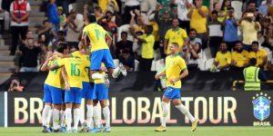3-0. Brasil quiebra un ayuno sin victorias y vence en el último amistoso del año