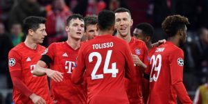 2-0. Lewandowski y Perisic llevan al Bayern a octavos