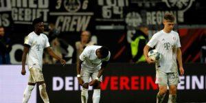 El Bayern se hunde en Fráncfort y el Leipzig golea