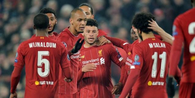 2-1. El Liverpool gana con la ley del mínimo esfuerzo
