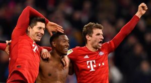 El Bayern golea al Dortmund (4-0) con doblete de Lewandowski