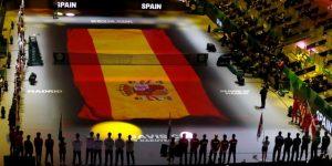 TÊNIS COPA DAVIS: Farruko pone ritmo a la inauguración de la Copa Davis de Madrid