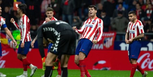 2-0. El Atlético se reactiva en la Liga