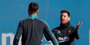 Messi, Piqué y Sergi Roberto, descartados para el partido en Milan