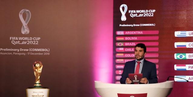 El sorteo definió una de las eliminatorias suramericanas más abiertas