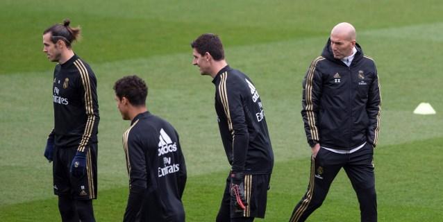 """Zidane: """"Tienen a Messi, pero nosotros también tenemos nuestras armas"""""""