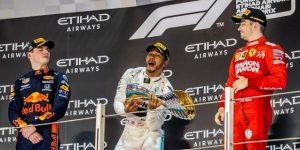 F1: Hamilton festeja su sexto Mundial con un 'Grand Chelem' en Yas Marina