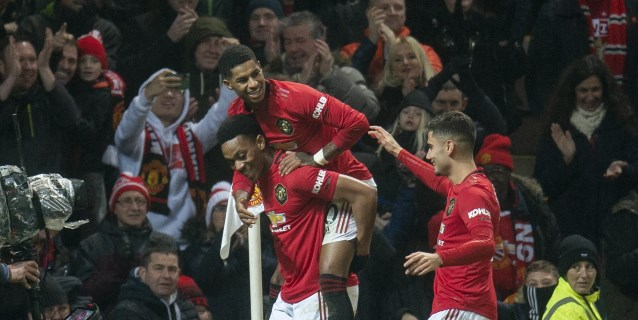 El 'boxing day' reactiva al Manchester United