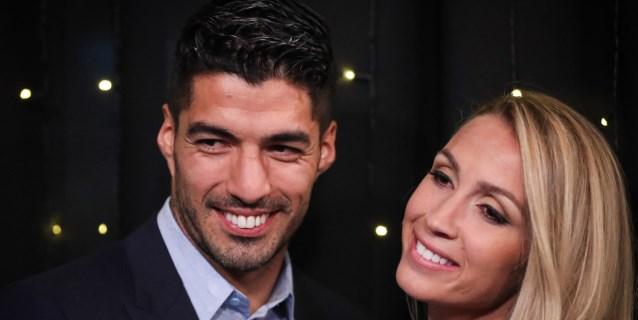 Suárez celebra 10 años de casado en una fiesta con Messi y Neymar entre invitados