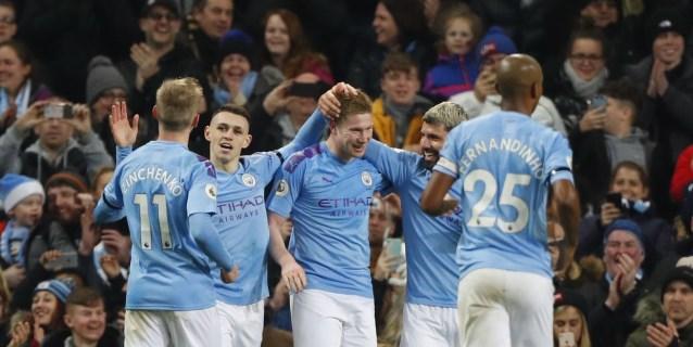 2-0. Agüero y De Bruyne evitan otro disgusto a Guardiola