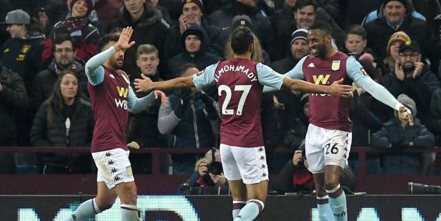 5-0. El Aston Villa abusa de un Liverpool plagado de juveniles