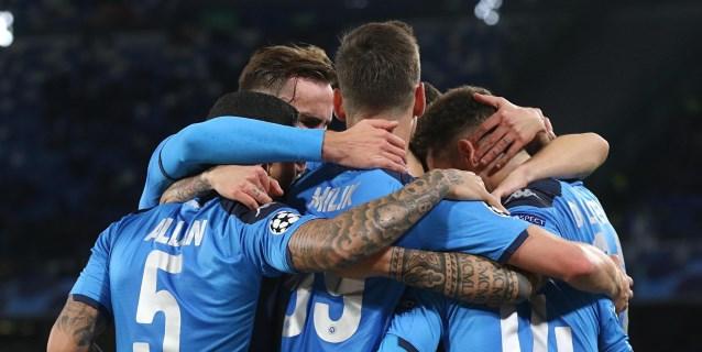 4-0. El Nápoles se mete en octavos como segundo clasificado