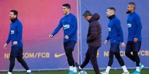 Valverde recupera a Alba y a Semedo