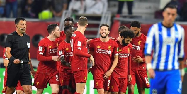 1-2- El Liverpool vence con angustias al Monterrey con un gol de Firmino