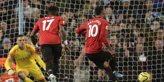 1-2. El mejor United en años deja al City a 14 puntos del Liverpool