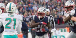 NFL: 24-27. Fitzpatrick y Dolhins obligan a Patriots a jugar etapa de comodines