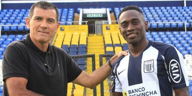 Alianza Lima hizo oficial la contratación del colombiano Cristian Zúñiga
