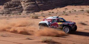 AUTO MOTO DAKAR: Sainz se pone líder del Dakar al ganar tercera etapa, donde Alonso fue quinto