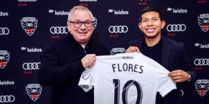 DC United adquiere al mediocampista de la Selección Nacional de Perú, Edison Flores