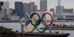 OLIMPISMO TOKIO 2020: Instalan unos anillos olímpicos gigantes en la bahía de Tokio de cara a los JJOO