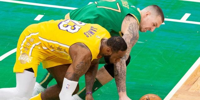 NBA: 133-107. Kemba gana a James por primera vez y Celtics se exhiben ante Lakers