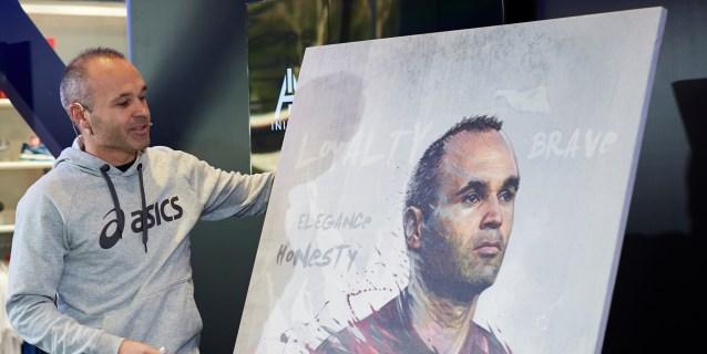 Iniesta quiere retirarse en el Vissel y volver como técnico al Barça