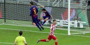 2-3. Diez minutos de inspiración llevan a la final al Atlético