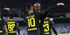 Lukaku y Lautaro hunden al Nápoles y el Inter es líder junto al Juventus