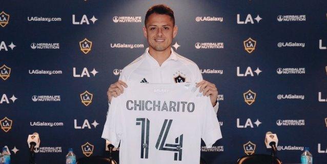"""""""Chicharito"""" Hernández está listo para triunfar con el Galaxy en la MLS"""