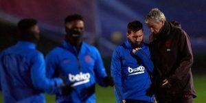 Setién da descanso a Messi, Busquets y Piqué en la Copa