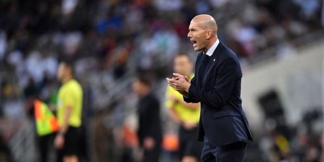 Zidane, Valverde y Courtois, los grandes vencedores de la Supercopa