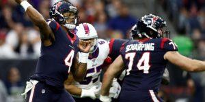NFL: 22-17. Watson y los Texans remontan a los Bills y pasan a la ronda divisional