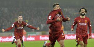 Raúl Jiménez no evita la décimo cuarta victoria seguida del Liverpool