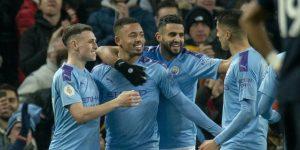 Gabriel Jesús da la victoria al Manchetser City frente al Everton