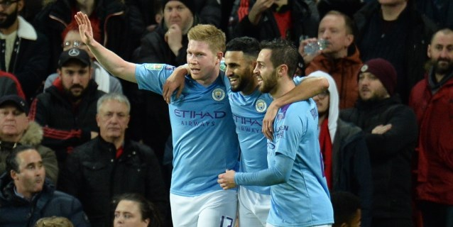 El Manchester City de Guardiola arrasa al United en la ida de la Copa