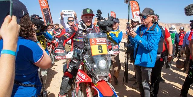 AUTO MOTO DAKAR: Ricky Brabec gana el Dakar en motos, con el chileno Pablo Quintanilla segundo