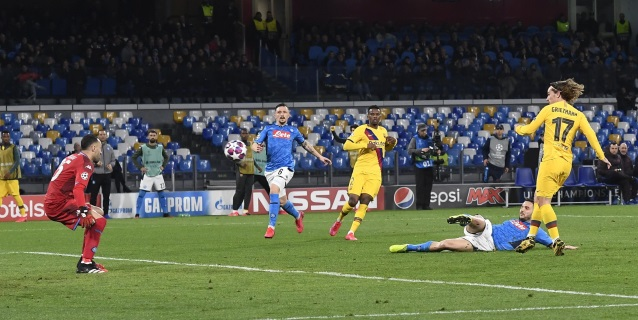 1-1. Griezmann permite al Barcelona salir vivo de San Paolo