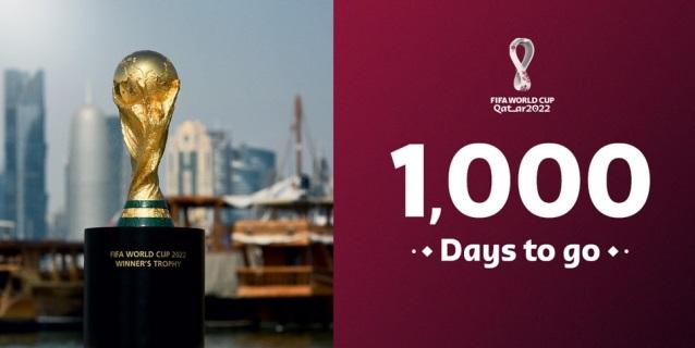 """Catar celebra que en mil días inaugura el """"espectáculo más grande de la tierra"""""""