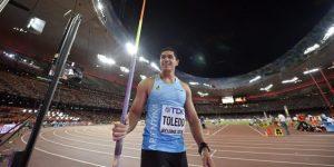 Falleció el atleta olímpico argentino Braian Toledo tras un accidente de moto