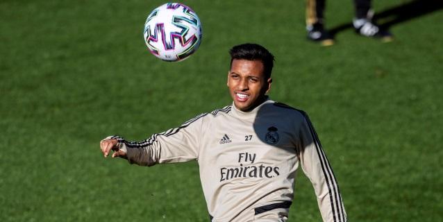 Rodrygo jugará con el Castilla para no perder ritmo
