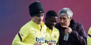 El Barcelona busca delantero tras recibir permiso de LaLiga para suplir a Dembélé